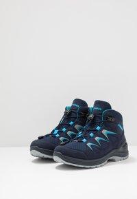 Lowa - INNOX EVO GTX QC JUNIOR UNISEX - Hiking shoes - navy/türkis - 3