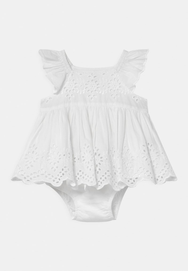 GAP - EYELET SET - Koktejlové šaty/ šaty na párty - optic white