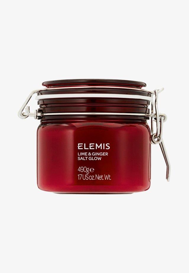 ELEMIS EXOTIC LIME & GINGER SALT GLOW - Body scrub - -