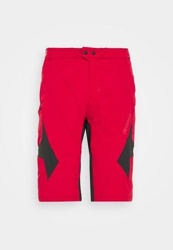 TAURUZ EVO SHORT MENS - Sports shorts - jester red/pirate black