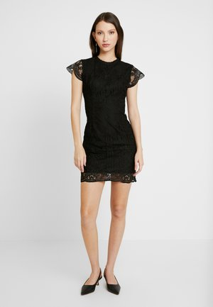 MINI DRESS - Vestido de cóctel - black