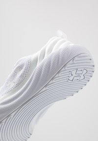 Under Armour - CHARGED WILL - Neutral running shoes - white - 5