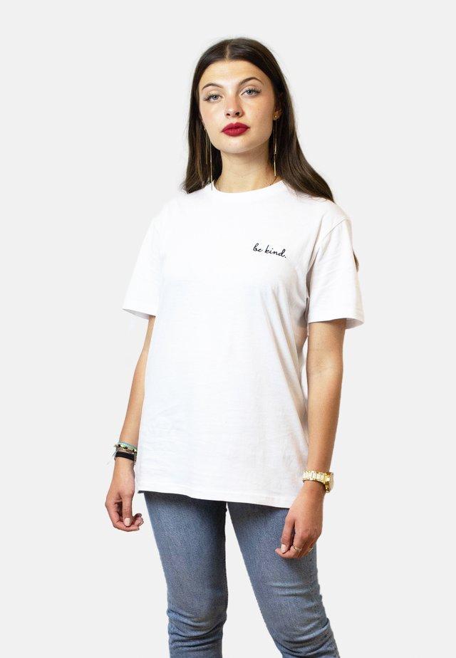 BE KIND - T-shirt basic - white