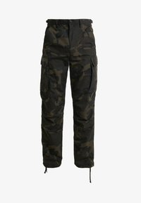 BRIGADE PANT RIPSTOP WOODLAND  - Cargo trousers - olive/brown