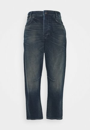C-STAQ 3D BOYFRIEND CROP WMN - Relaxed fit jeans - antic nebulas