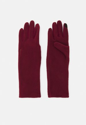 COLD WEATHER GLOVES - Guanti - dark beetroot