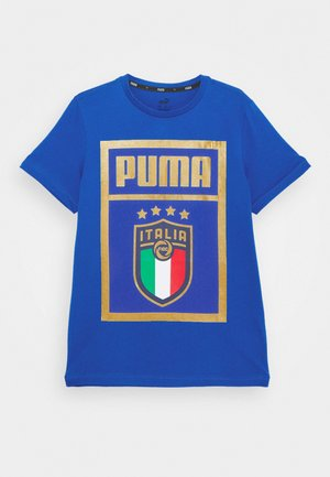 ITALIEN FIGC PUMA DNA TEE - National team wear - team power blue/team gold