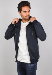 Gabbiano - Zip-up sweatshirt - navy - 3