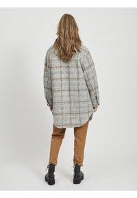 Object - OBJSOLA LONG - Short coat - light grey melange - 0