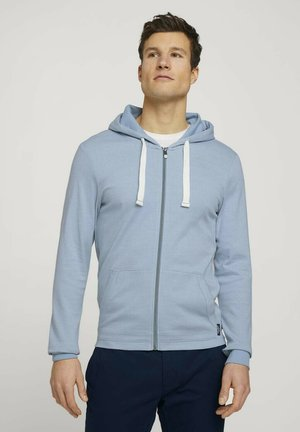 veste en sweat zippée - yonder blue