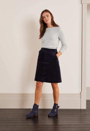 BERESFORD - A-line skirt - navy