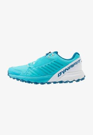 ALPINE PRO - Trail running shoes - silvretta/white