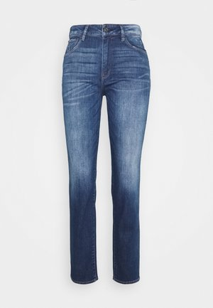 3301 HIGH STRAIGHT 90S ANKLE - Jeans Straight Leg - faded cobalt