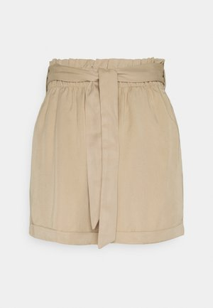 SOFT RELAXED - Shorts - dune beige