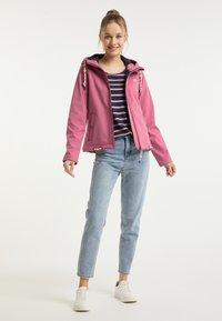 Schmuddelwedda - Outdoorová bunda - pink - 1