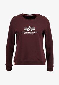 Alpha Industries - NEW BASIC  - Sweatshirt - deep maroon - 4