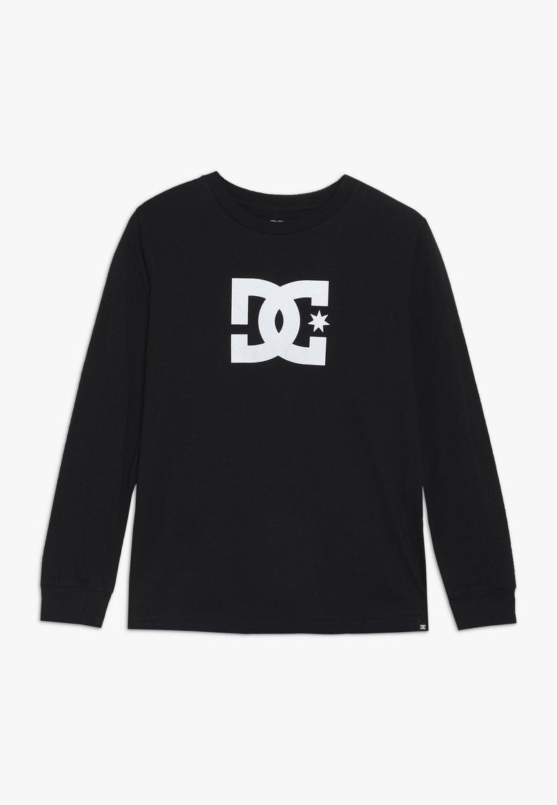 DC Shoes - STAR LS 2 BOY - Long sleeved top - black/white