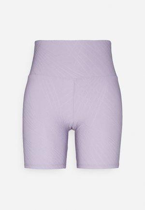SELENITE BIKE SHORT - Leggings - lavender gray