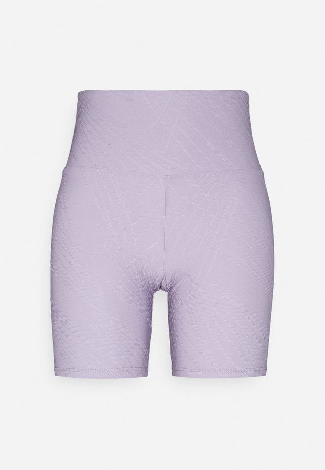 SELENITE BIKE SHORT - Collants - lavender gray