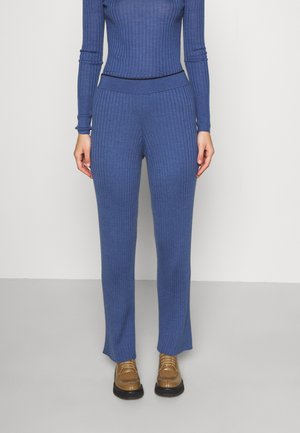 TROUSER - Kalhoty - blue