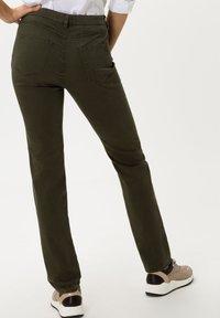 BRAX - STYLE CAROLA - Trousers - dark olive - 2