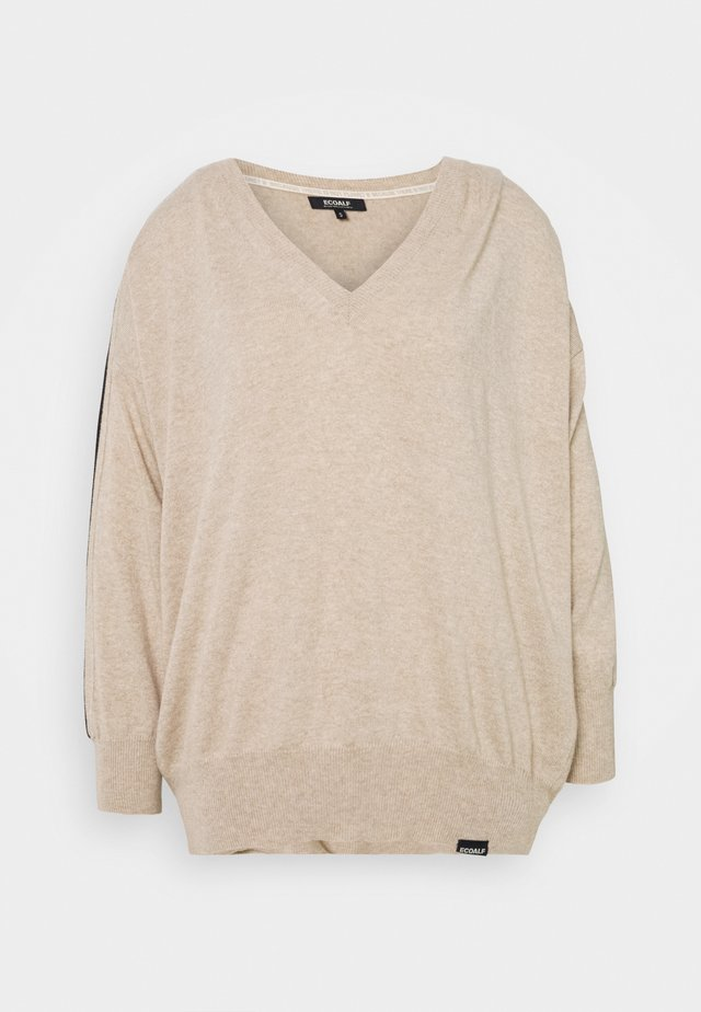BRIXEN WOMAN - Pullover - beige