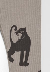 Mini Rodini - BABY PANTHER UNISEX - Leggings - Trousers - grey - 2
