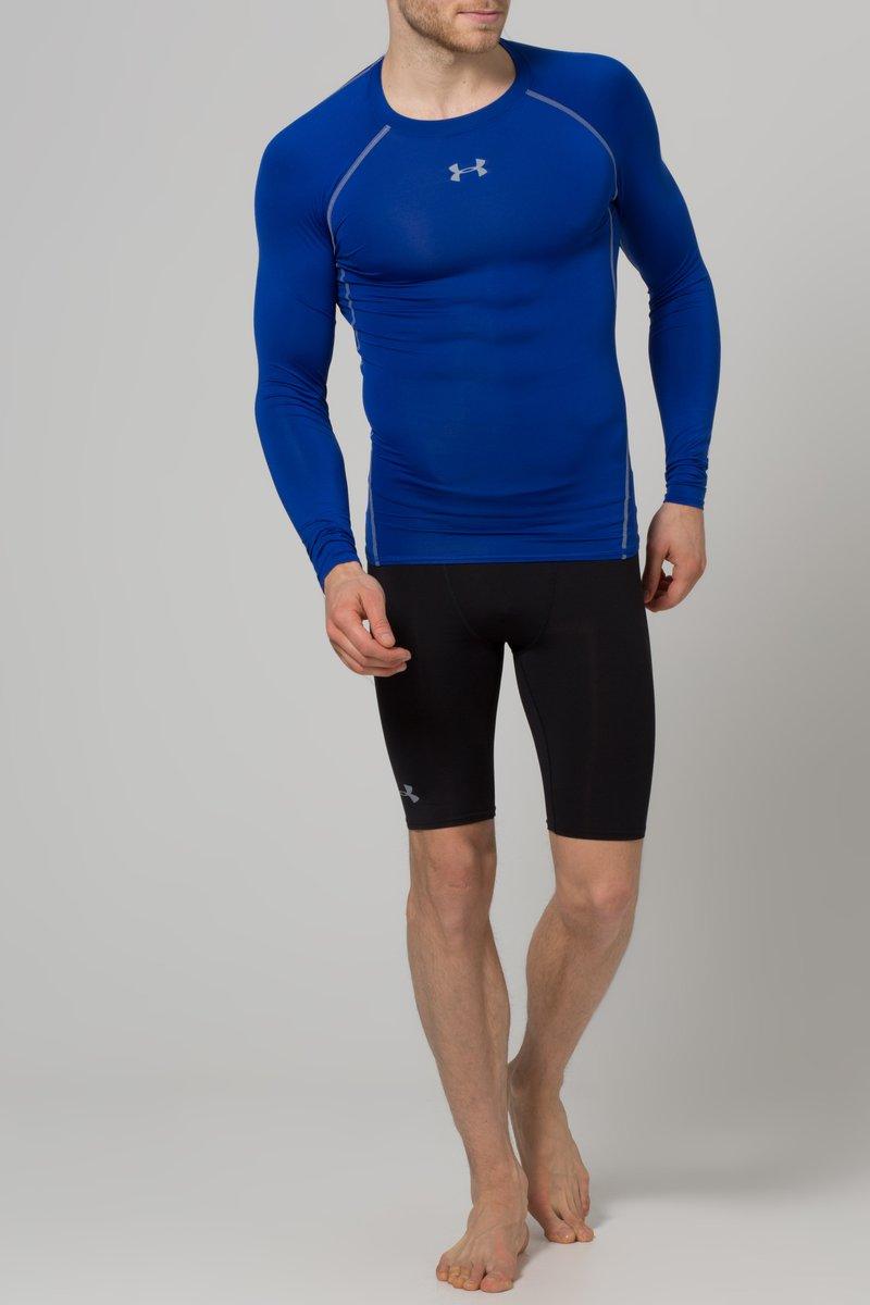 Under Armour - COMP - T-shirt de sport - blau/grau