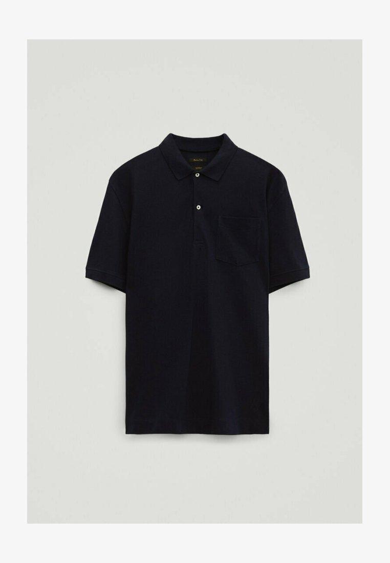Massimo Dutti - Polo shirt - dark purple