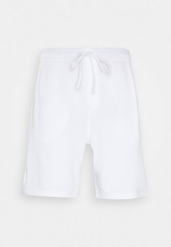 TERRY - Verryttelyhousut - white