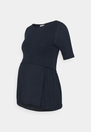 NURSING - Basic T-shirt - navy blazer