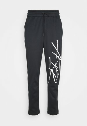 AIR THERMA PANT - Pantalon de survêtement - black/white