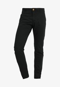 Blend - SLIM FIT - Chino - black - 5