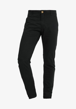 SLIM FIT - Chinos - black