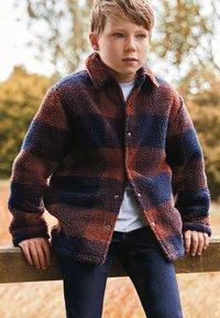 Next - Fleece jacket - orange - 0