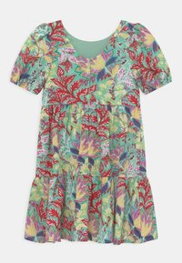Chi Chi Girls - GIRLS PUFF SLEEVE TIERED DAY IN FLORAL PRINT - Denní šaty - multi-coloured - 1