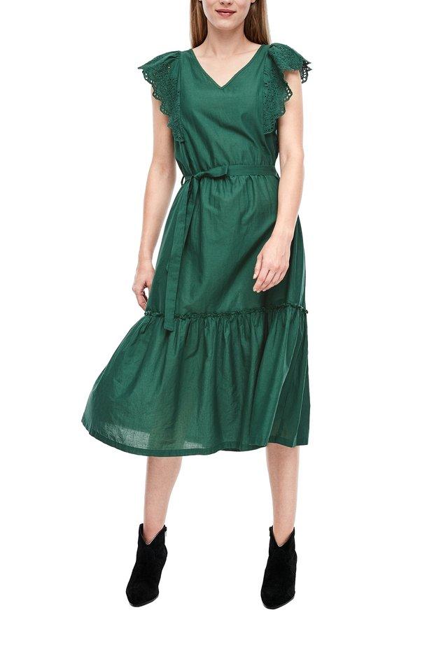 Korte jurk - irish green
