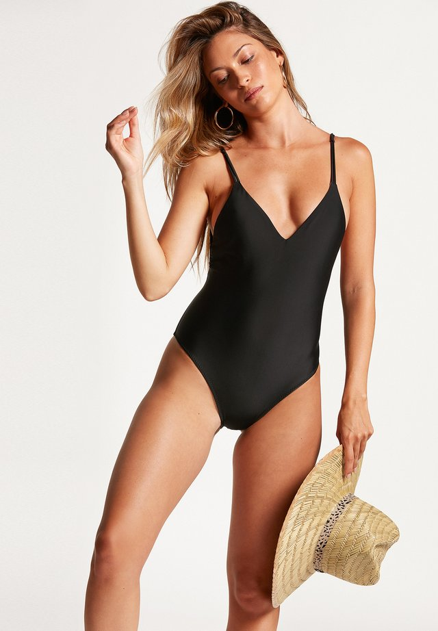 SIMPLY SOLID 1PC - Maillot de bain - black