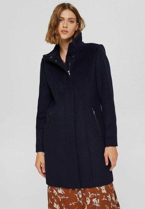 RECYCELT: MIX - Classic coat - navy