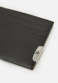 Calvin Klein Jeans - CARDCASE UNISEX - Plånbok - black - 3