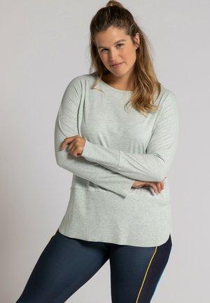 Sweatshirt - gris menthe