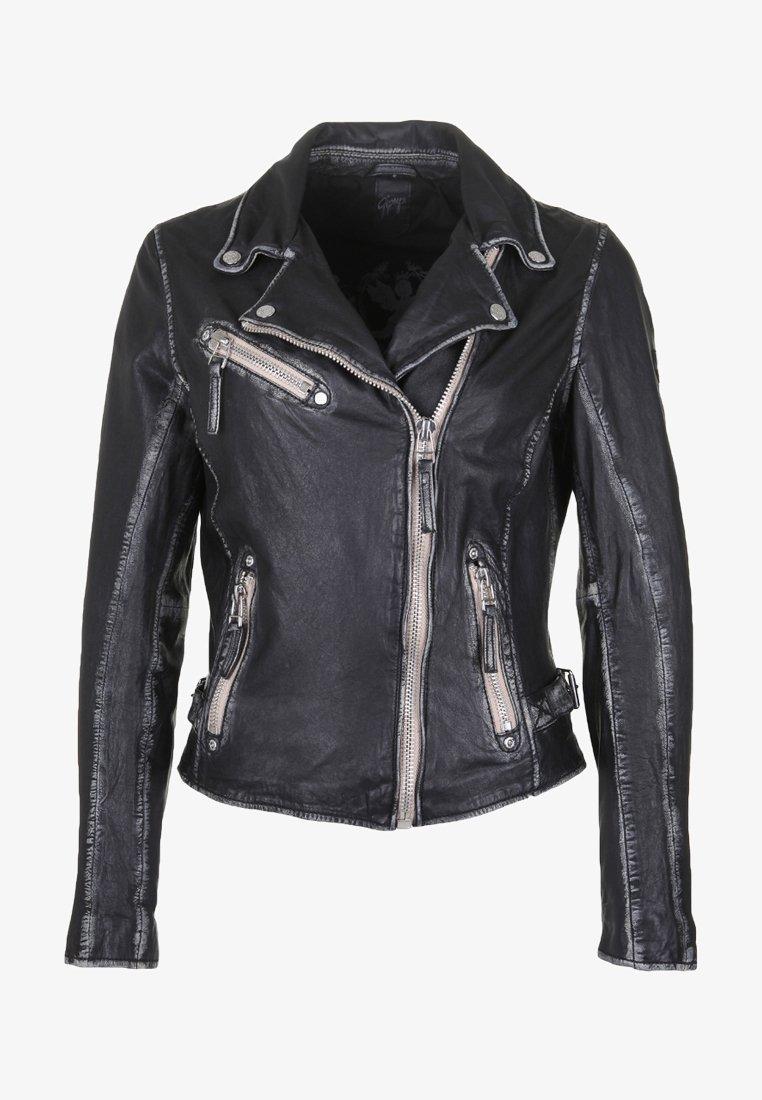 Gipsy - PGG LULV - Kožená bunda - black