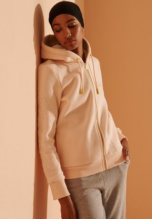 veste en sweat zippée - bright blush