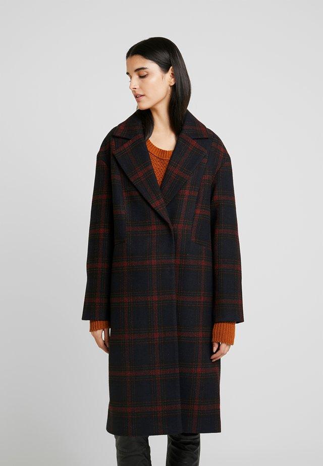 Classic coat - red/black