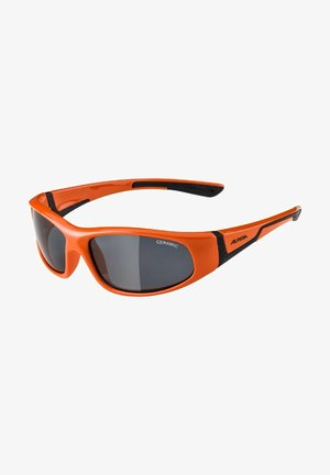 Sunglasses - orange black
