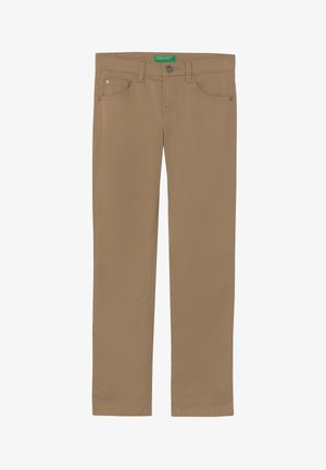 Vaqueros slim fit - beige