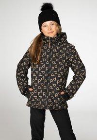 Protest - CANDY JR  - Snowboardová bunda - true black - 1