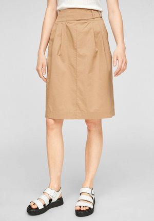 ROK - A-line skirt - desert sand