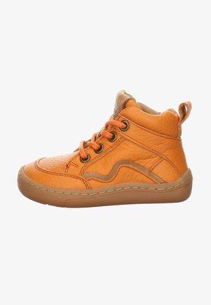 BAREFOOT - Baby shoes - orange