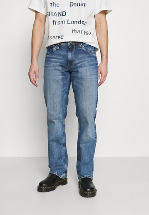 KINGSTON ZIP - Straight leg jeans - wh9